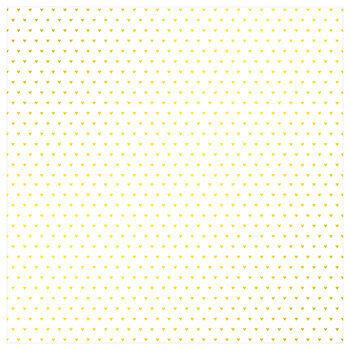 """Foil Hearts Scrapbook Paper - 12"""" x 12"""""""
