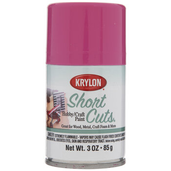 Hot Pink Krylon Short Cuts Spray Paint