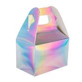 Iridescent Foil Gable Boxes