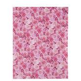 "Pink Roses Scrapbook Paper - 8 1/2"" x 11"""