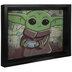 Baby Yoda & Frog Lenticular Wall Decor