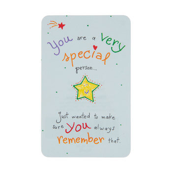 You Are Special Wallet Card