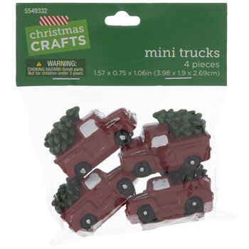 Mini Trucks With Trees