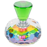 Green Crystal Perfume Bottle