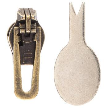 Metal Zipper Replacement Slider Kit