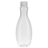 Tall Oval Sand Bottle
