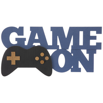 Game On Wood Wall Decor
