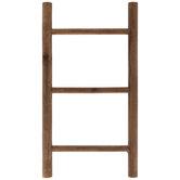 Brown Mini Wood Decorative Ladder