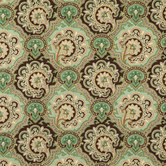 Paisley Medallion Cotton Calico Fabric