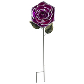 Flower Bobble Metal Garden Stake