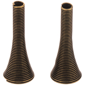 Coil Bead Caps - 11mm x 28mm