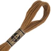 420 Dark Hazelnut Brown DMC Cotton Embroidery Floss