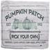 Green Pumpkin Patch Pillow Cover