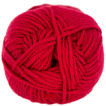 Red I Love This Cotton Yarn