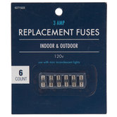 Replacement Fuses - 3 Amp
