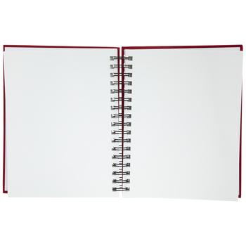 Red Wire Bound Sketchbook