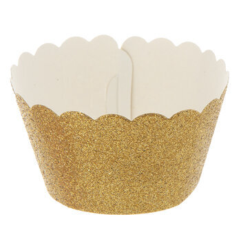 Glitter Baking Cup Wraps