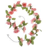 Coral Rose Garland