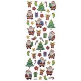 Santa & Christmas Icon Foil Stickers
