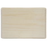 "Rectangle Wood Plaque - 7"" x 9"""