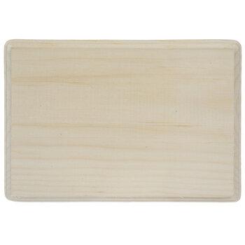 "Rectangle Wood Plaque - 7"" x 9"""