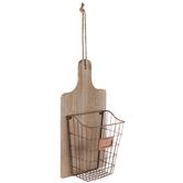 Copper Metal Wall Basket