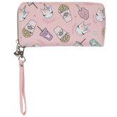 Unicorn Snacks Wristlet Wallet