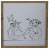Bicycle Framed Wall Decor