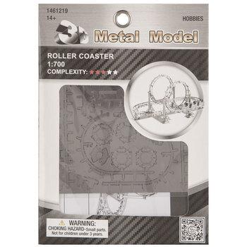 Roller Coaster Metal 3D Model Kit