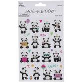 Party Pandas Stickers