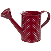 Polka Dot Metal Watering Can
