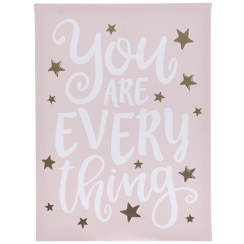 You Are Everything Canvas Wall Decor