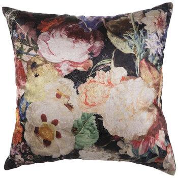 Floral Velvet Pillow Cover