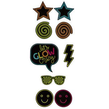 Glow Party Cutouts