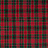 Metallic Red & Green Plaid Apparel Fabric