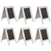 White Wood Chalkboard Easels