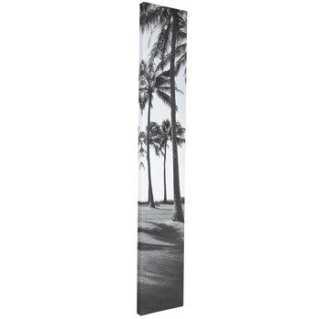 Black & White Palm Trees Canvas Wall Decor