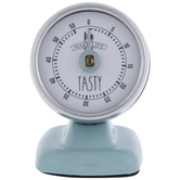 Blue Make Life Tasty Kitchen Timer