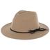 Tan Rancher Felt Hat