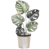 Tropical Plant Metal Wall Decor
