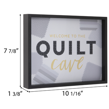 Quilt Cave Wood Wall Decor