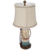 Rustic Buoy Lamp