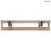 Whitewash Crate Wood Wall Shelf