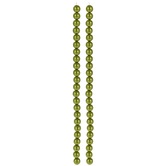 Light Olive Czech Glass Pearl Bead Strands - 8mm