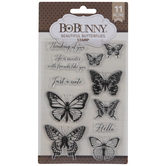 Beautiful Butterflies Clear Stamps