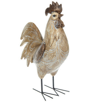 Brown Etched Rooster