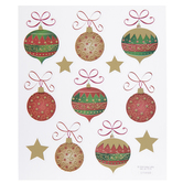 Ornate Ornaments Foil Stickers