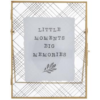 Little Moments Big Memories Metal Decor