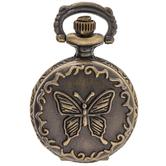 Butterfly Pocket Watch Pendant