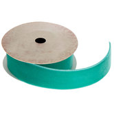 Jade Velvet Ribbon Trim - 7/8""